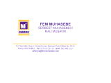SMMM Fergan Erkişi Mali Müşavirlik Muhasebe Bürosunda çalışmak üzere;